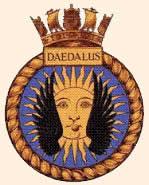 HMS Daedalus Crest