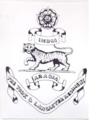 York And Lancaster Regiment Military Arabia Badge