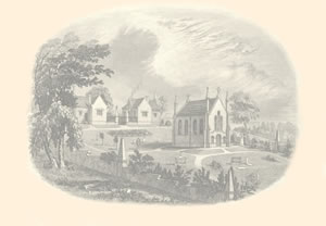 A Sketch Of The Old Cemetery