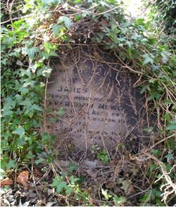 James Newey Grave