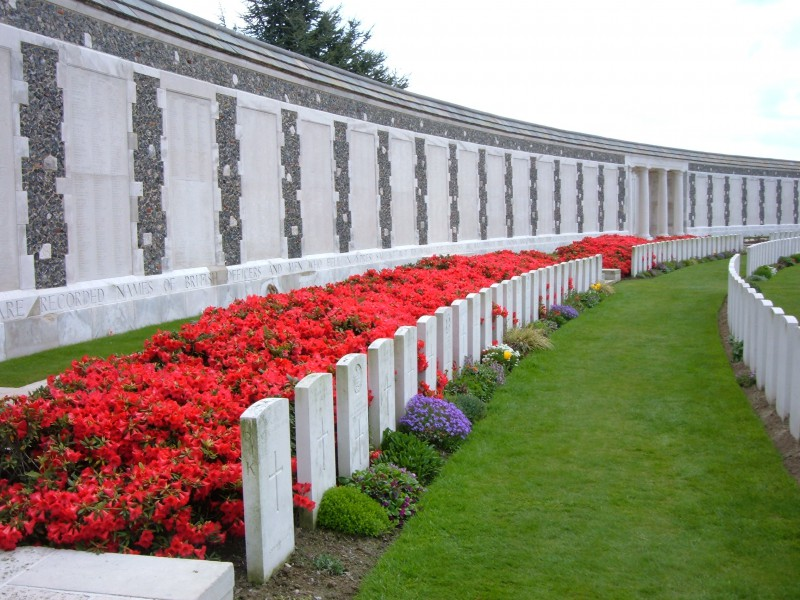 Tyne Cot Memorial To The Missing