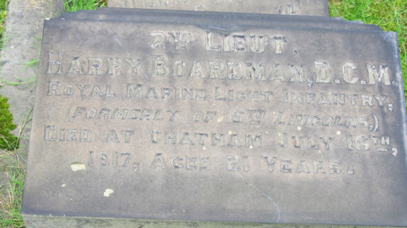 The Grave Of Harry Boardman